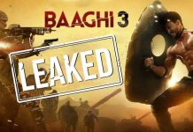 Baaghi 3 movie Download Leacked by Tamilrockers & Movierulz