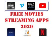 Free Movies Streaming Apps 2020
