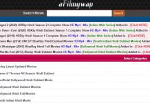 Afilmywap Hindi movies Download Site 2020