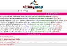 Ofilmywap Hindi movies Download Site 2020