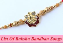 Raksha Bandhan song download List